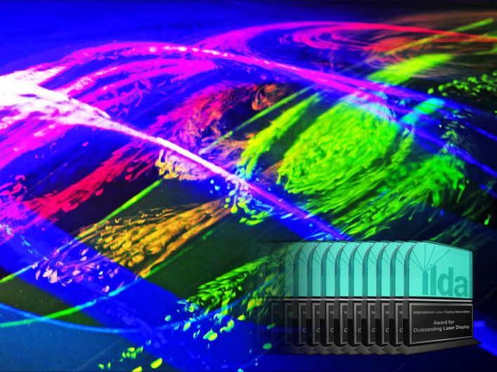 Lightwave is recognized with eight International Laser Display Association awards at the 2011 Moscow conference.