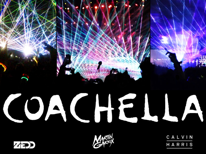 Lightwave International celebrates 11 weekends at Coachella providing spectacular laser effects for top artists and festival stages. For 2014 Lightwave packed visual punch into Zedd, Martin Garrix, and Calvin Harris' performances.