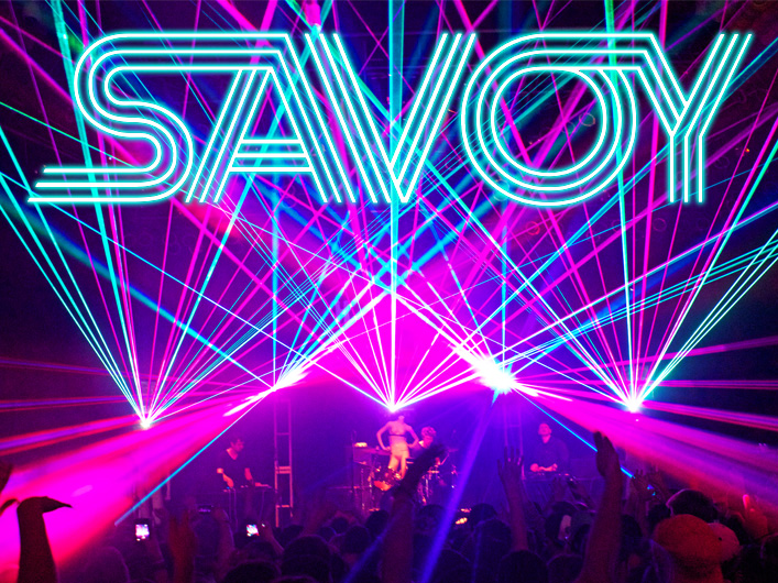 Savoy Tours with Lightwave International's Laser Special Effects