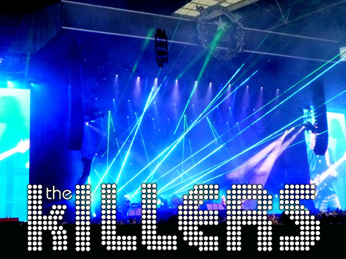 The Killers Battle Bourn World Tour uses Lightwave International for reliable and powerful laser special effects.