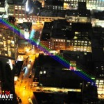 Yvette Mattern's Global Rainbow is powered by Lightwave International's specialized lasers