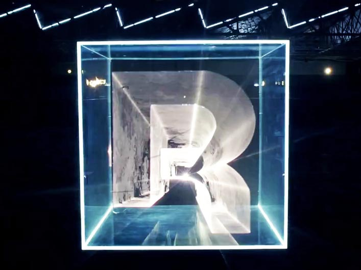 """The energy of Swizz Beatz """"International Party"""" is brought to life through the use of Lightwave International lasers to create a visually captivating commercial for Reebok's """"Reethym of Lite"""" campaign."""