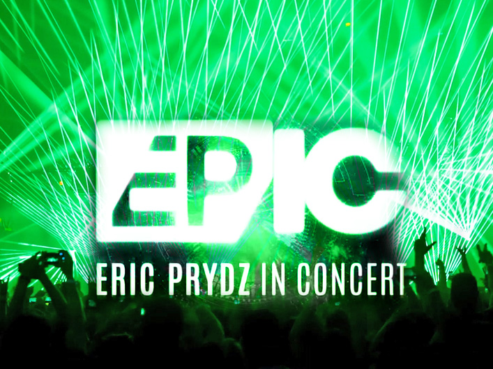 Eric Prydz Epic 3.0 at Madison Square Garden with Lightwave International Laser Special Effects