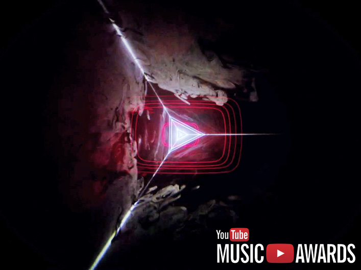 Lightwave International laser programming and equipment is the star in this trailer for the YouTube Music Awards.